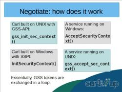 SPNEGO, Kerberos, GSS-API and Negotiate support and how to make them better