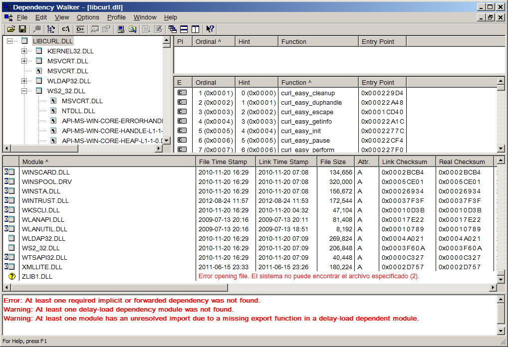 Curl: Re: Missing zlib1.dll in cURL 7.31.0 for Win32